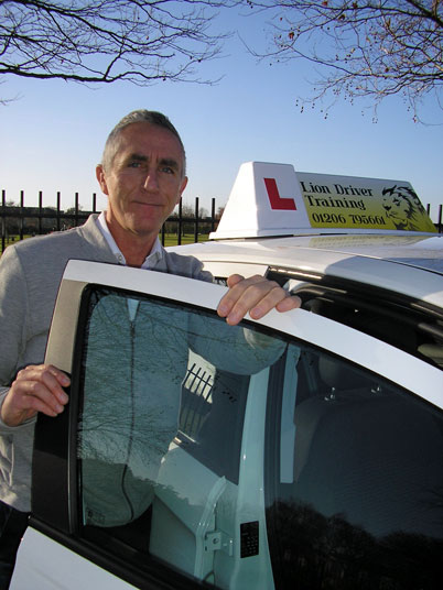 Driving Instructor, Colchester, Essex.